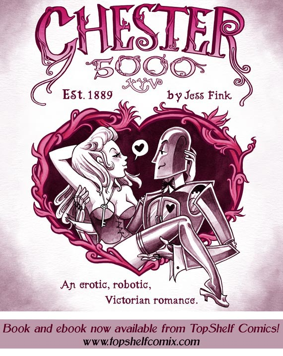 Steampunk Erotic Robot Comics: Every Bit As Amazing As You Imagine